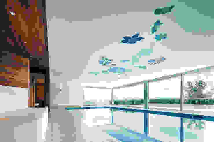 Villa T Moderne Pools von DITTEL ARCHITEKTEN GMBH Modern