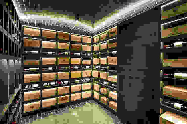 Villa T Moderne Weinkeller von DITTEL ARCHITEKTEN GMBH Modern