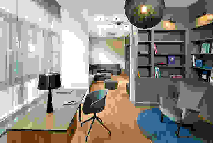 Рабочий кабинет в стиле модерн от DITTEL ARCHITEKTEN GMBH Модерн