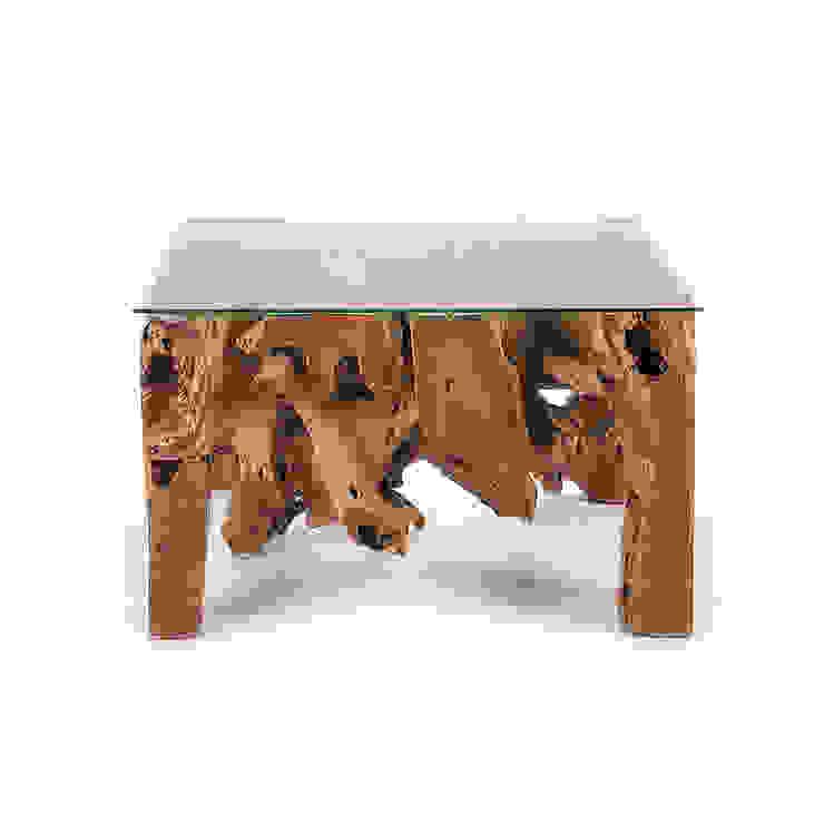 Belokan Rustic Coffee Table: modern  by puji, Modern