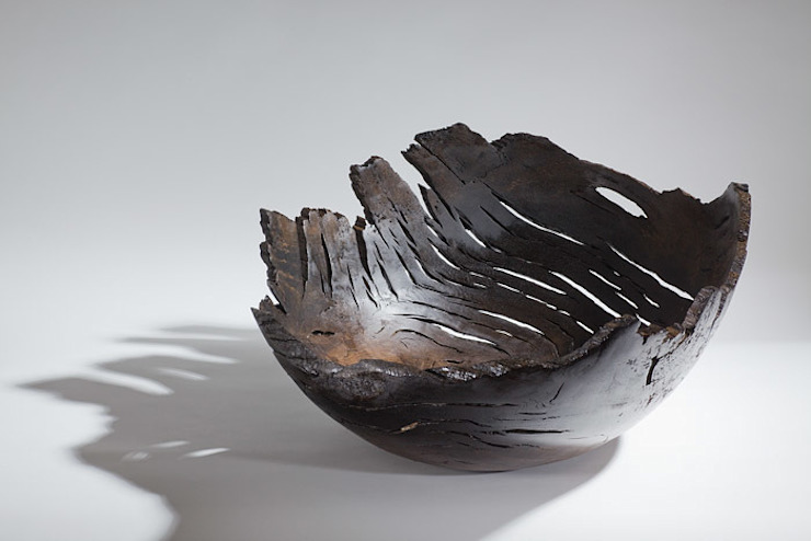 Bog oak Bowl by Kieran Higgins