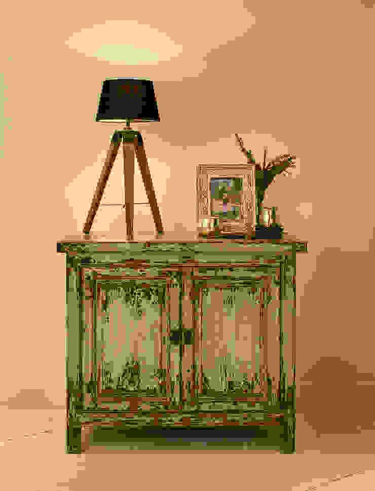 Tukang Vintage Sideboard - Green: modern  by puji, Modern