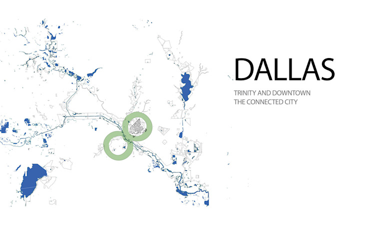 Dallas: The Connected City Design Challenge de Ricardo Bofill Taller de Arquitectura