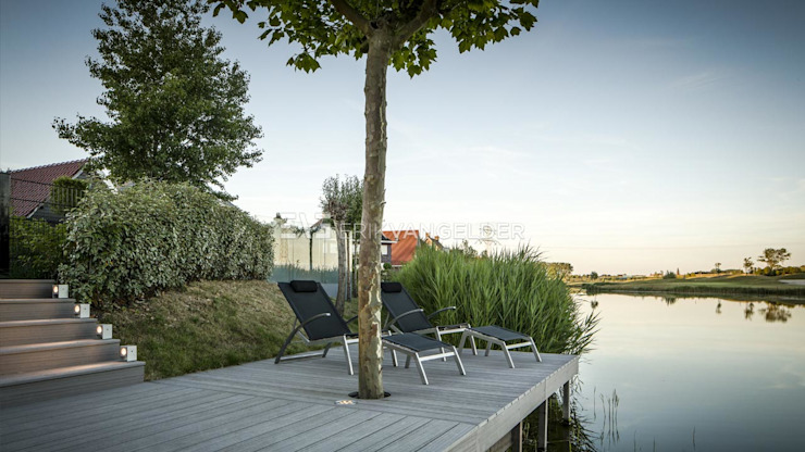 Jardines de estilo  por ERIK VAN GELDER | Devoted to Garden Design