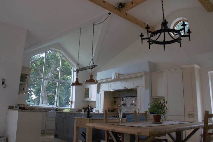 Projects, Extensions, Lofts Cocinas de estilo rural de Xspace Rural