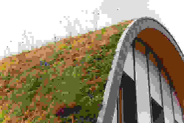 La maison vague, comme un terrain vague en été Maisons originales par Patrick Nadeau Éclectique