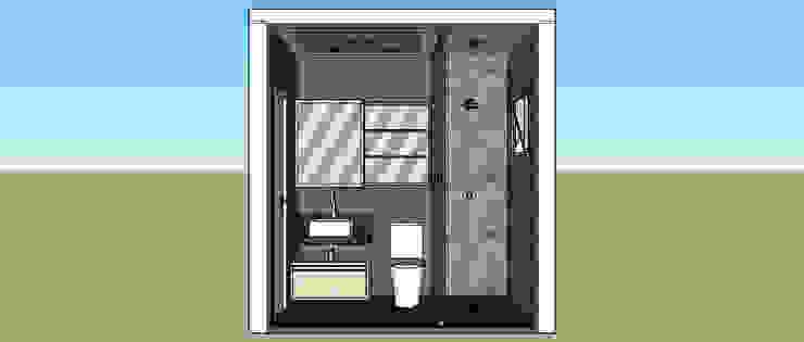 Banheiro Suíte por Cristiano Carvalho Arquitetura e Design