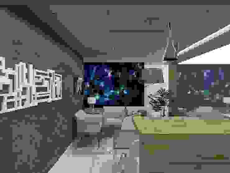 Sala Estar por Cristiano Carvalho Arquitetura e Design