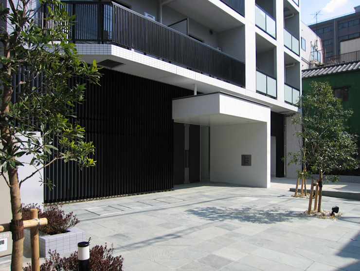 アプローチ オリジナルな 家 の 八島建築設計室 オリジナル