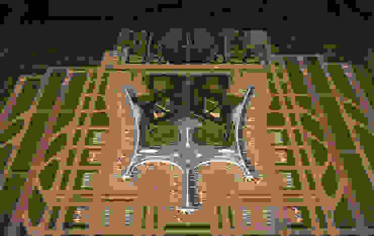 Qingdao New Airport de Ricardo Bofill Taller de Arquitectura