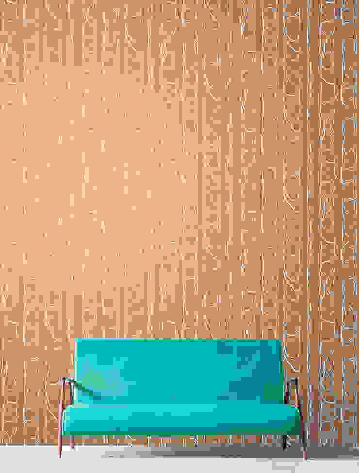 Zhivago wallpaper 'copper': modern  by NAT MAKS, Modern