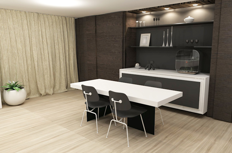 Modern Dining Room by AD MORE design Modern