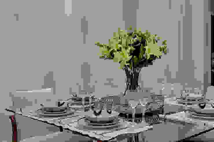 Projeto Salas de jantar modernas por carla felippi arquiteta Moderno