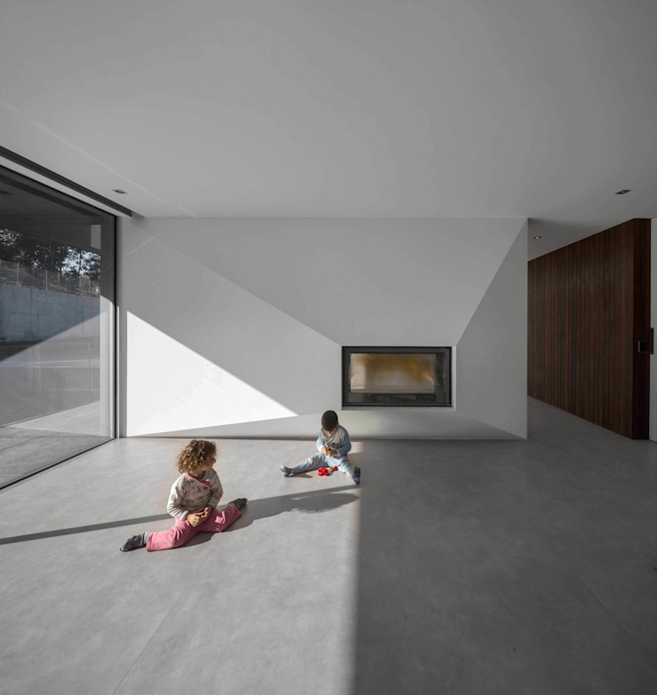 Casa BE Salas de estar modernas por spaceworkers® Moderno
