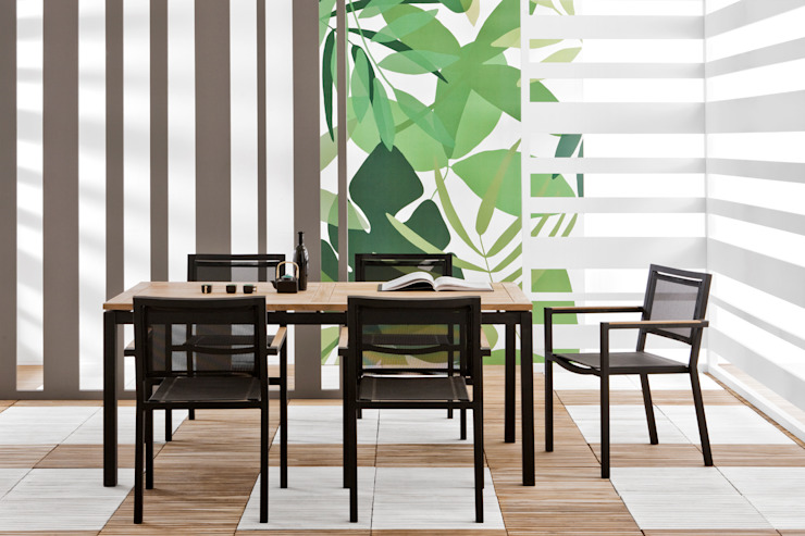 Lui & Lei tavolo e sedie di Il giardino di legno Moderno
