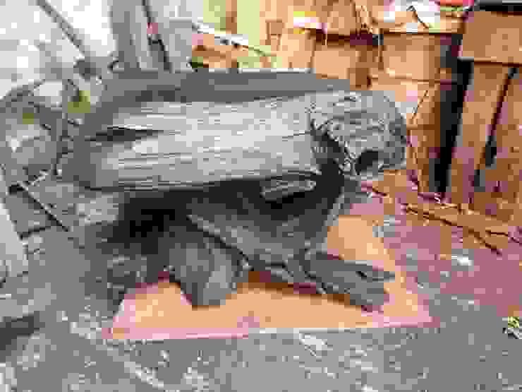 Bog Wood Sculpture: rustic  by Irish Bog Wood Sculpture, Rustic