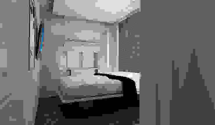 PROGETTO + ARREDAMENTO + HOTEL + CONTRACT + LIGURIA Hotel moderni di STUDIO ARCHITETTURA-Designer1995 Moderno