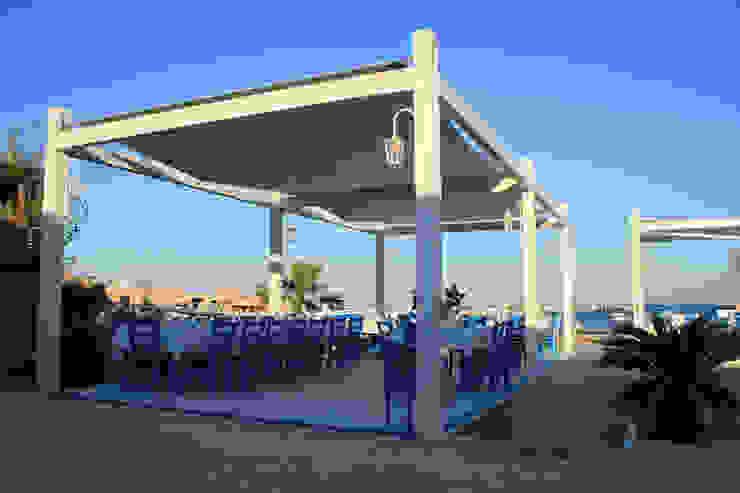 Campisi ristorante a Marzamemi (SR) Gastronomia in stile moderno di G'n'B studio Moderno