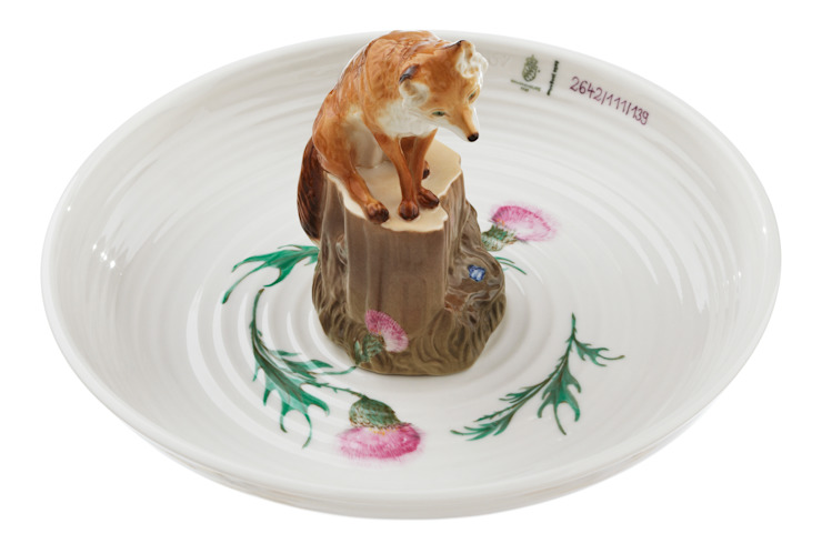 Bowl with fox by Vessel Gallery