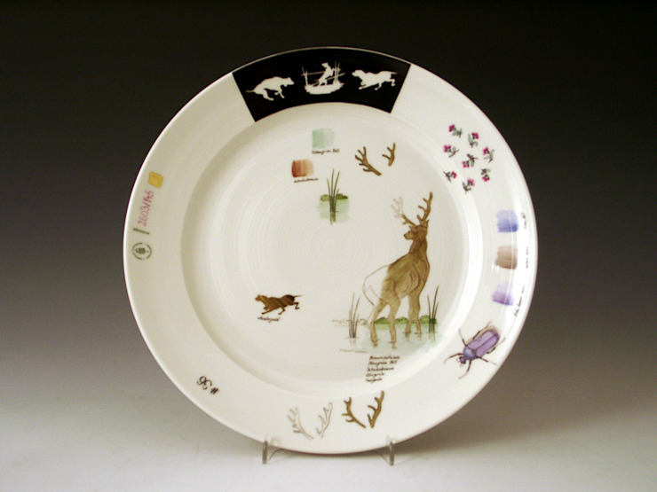Sketches Plate by Vessel Gallery