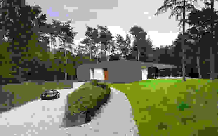 Villa Veth Moderne tuinen van 123DV Moderne Villa's Modern