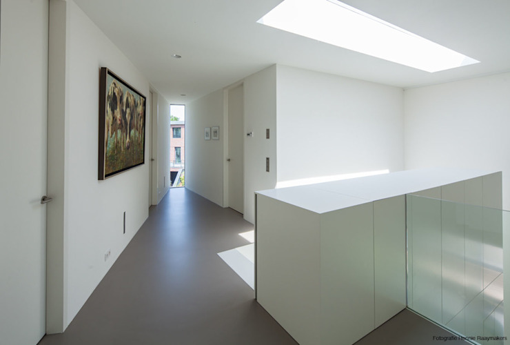 Cloud 9 Villa 123DV Moderne Villa's Moderne gangen, hallen & trappenhuizen