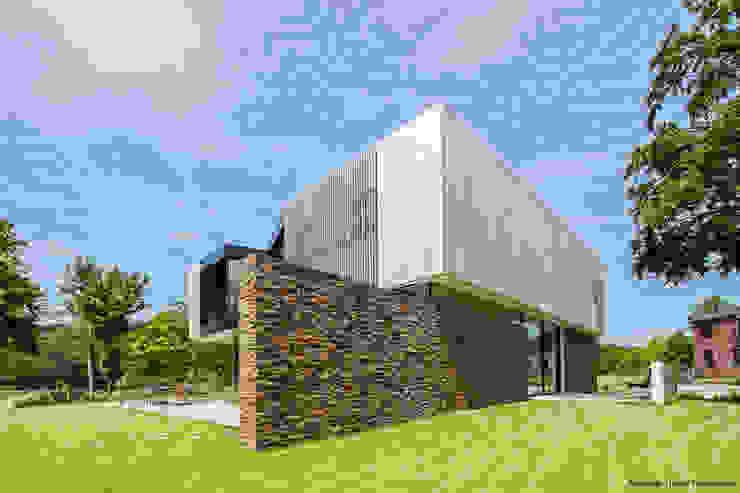 123DV Moderne Villa's 現代房屋設計點子、靈感 & 圖片