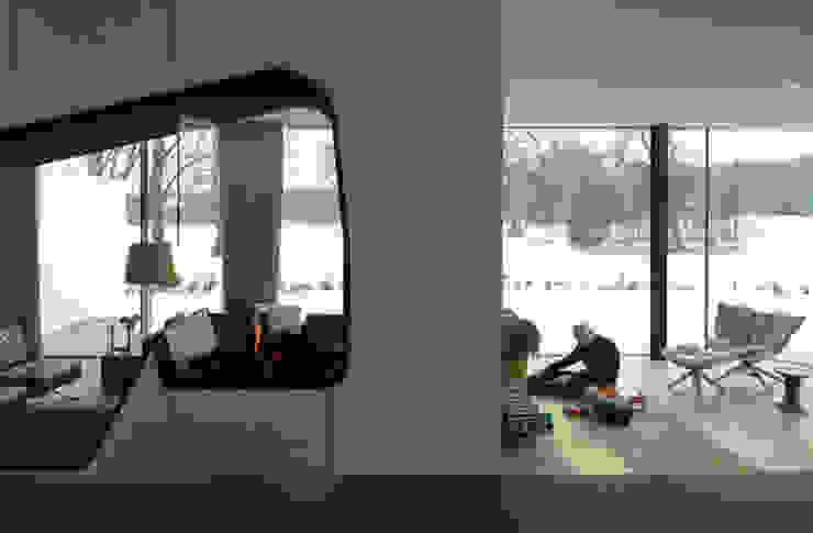 Salones de estilo moderno de 123DV Moderne Villa's Moderno