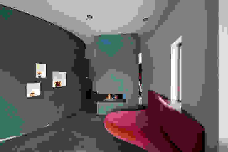 Villa Dalí Moderne woonkamers van 123DV Moderne Villa's Modern