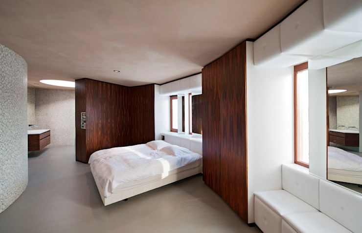 Bedroom by 123DV Moderne Villa's, Modern
