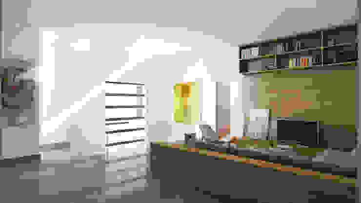 Estancia Famiilar Planta Alta de Eugenio Adame Arquitectos