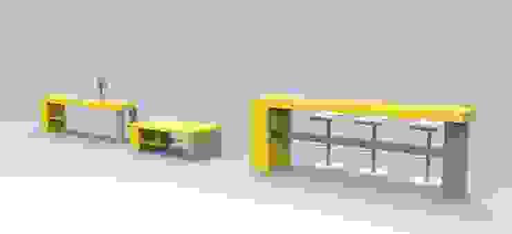 Muebles de Oficina de Jenifer Design Studio Minimalista