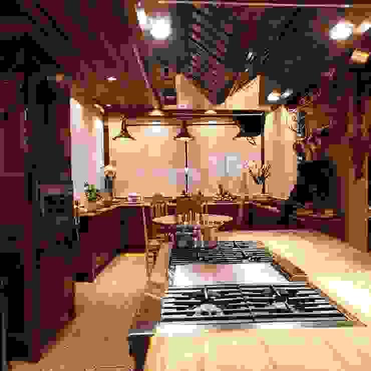 Cozinha Cristina Amaral Arquitetura e Interiores Cozinhas rústicas