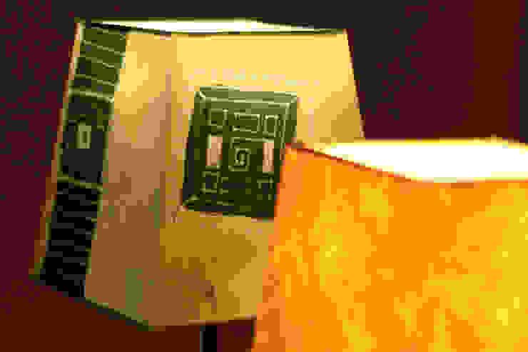 foliage light ATELIER IRENE SEMELKA WohnzimmerBeleuchtung Textil Gelb