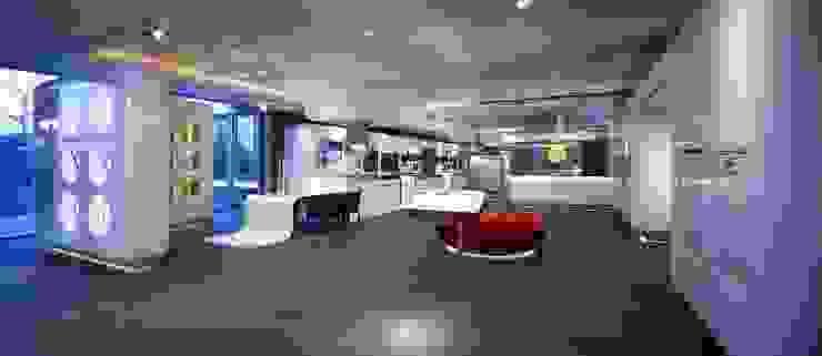 Miele inspirience Center – Vianen Moderne winkelruimten van M+R interior architecture Modern