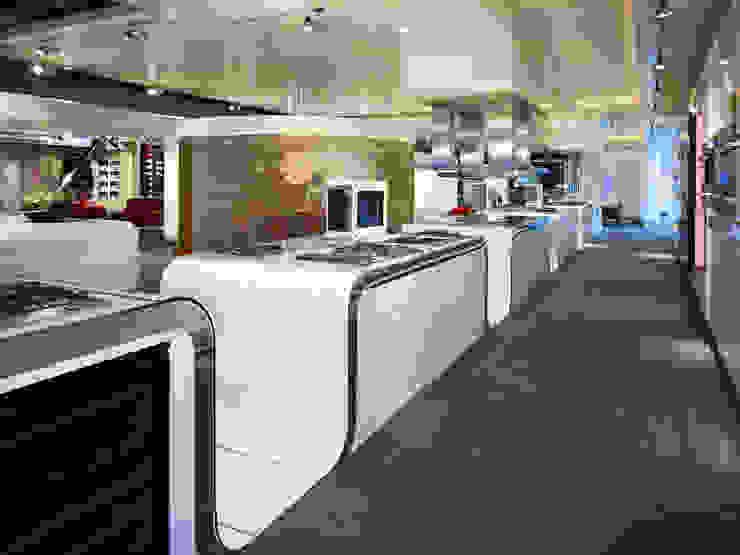 Miele inspirience Center - Vianen Moderne winkelruimten van M+R interior architecture Modern