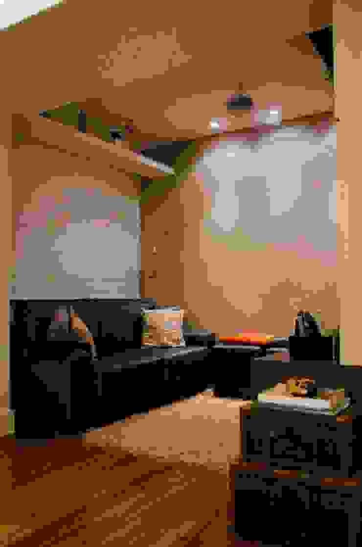 Sala de TV Salas de estar modernas por Paula Werneck Arquitetura Moderno