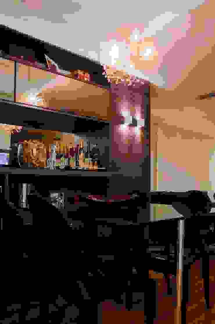 Sala de Jantar Salas de estar modernas por Paula Werneck Arquitetura Moderno