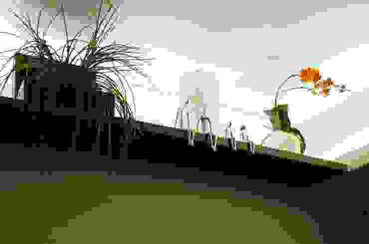 Detalhe Salas de estar modernas por Paula Werneck Arquitetura Moderno