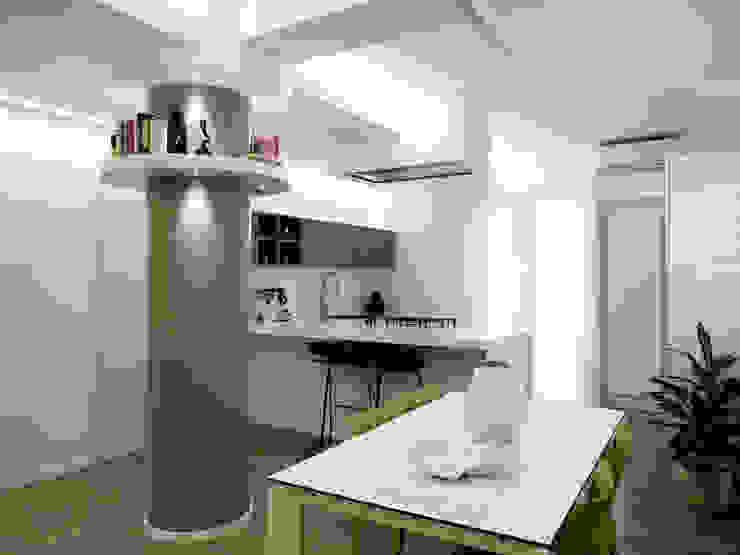 Casa BT Sala da pranzo moderna di Laboratorio di Progettazione Claudio Criscione Design Moderno