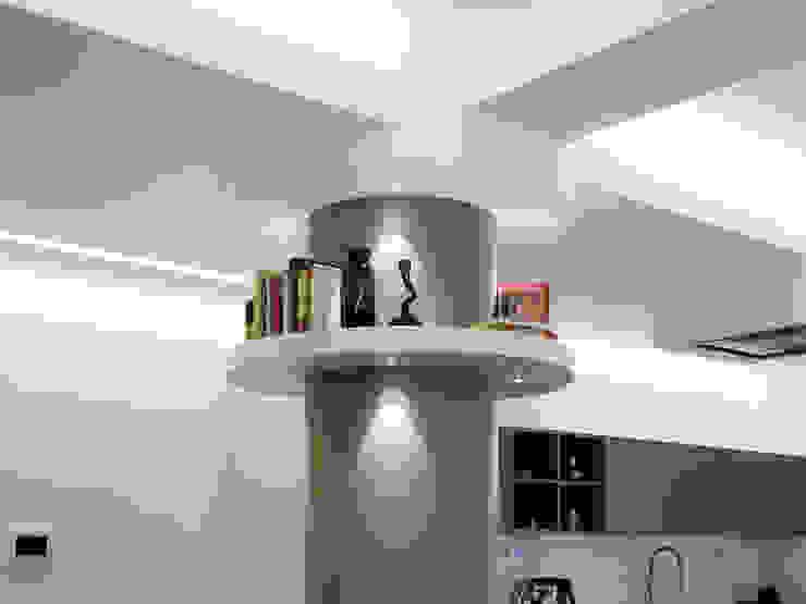Casa BT Ingresso, Corridoio & Scale in stile moderno di Laboratorio di Progettazione Claudio Criscione Design Moderno