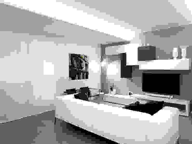 Casa BT Soggiorno moderno di Laboratorio di Progettazione Claudio Criscione Design Moderno