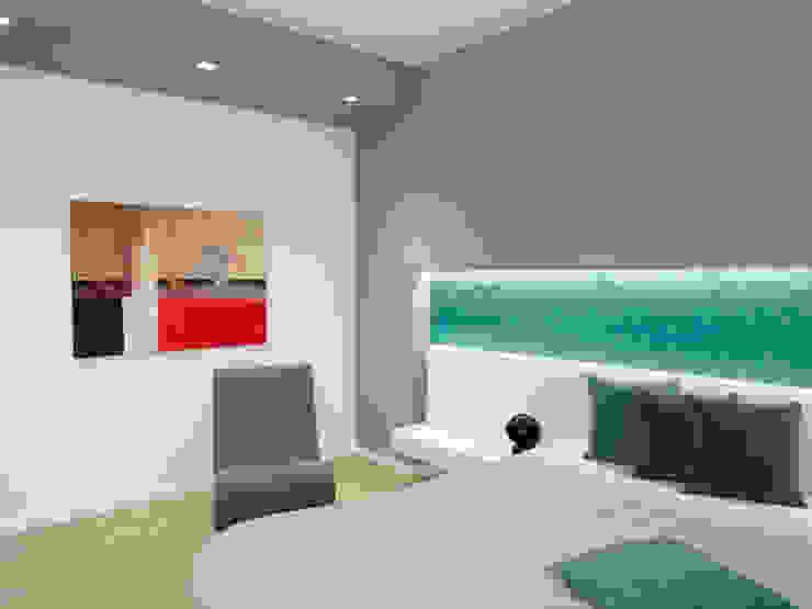 Casa BT Camera da letto moderna di Laboratorio di Progettazione Claudio Criscione Design Moderno