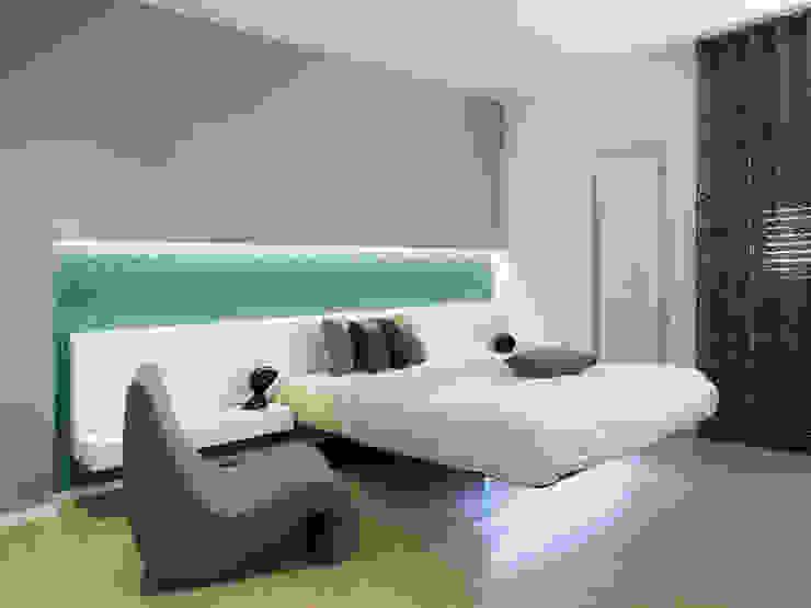 Nowoczesna sypialnia od Laboratorio di Progettazione Claudio Criscione Design Nowoczesny