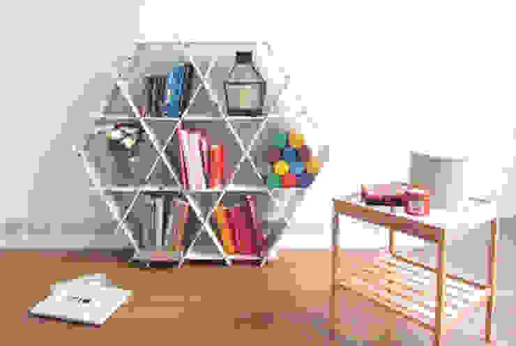 Ruche size Large - cardboard: modern  by Ruche shelving unit , Modern