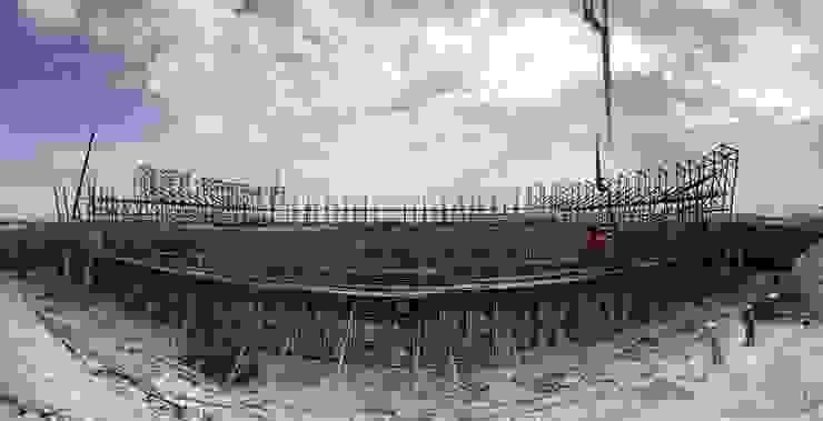 Nuevo Estadio de Babil en Hillah. 30K de Javier Garcia Alda arquitecto