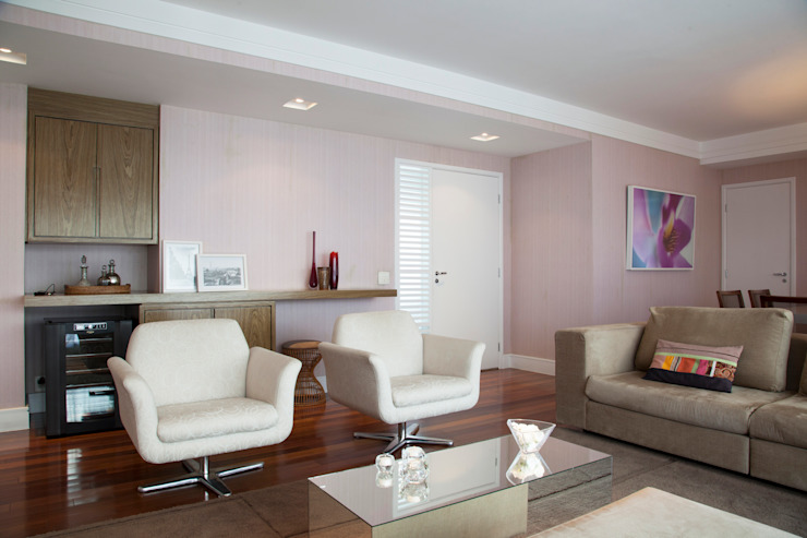 Tikkanen arquitetura Modern Oturma Odası