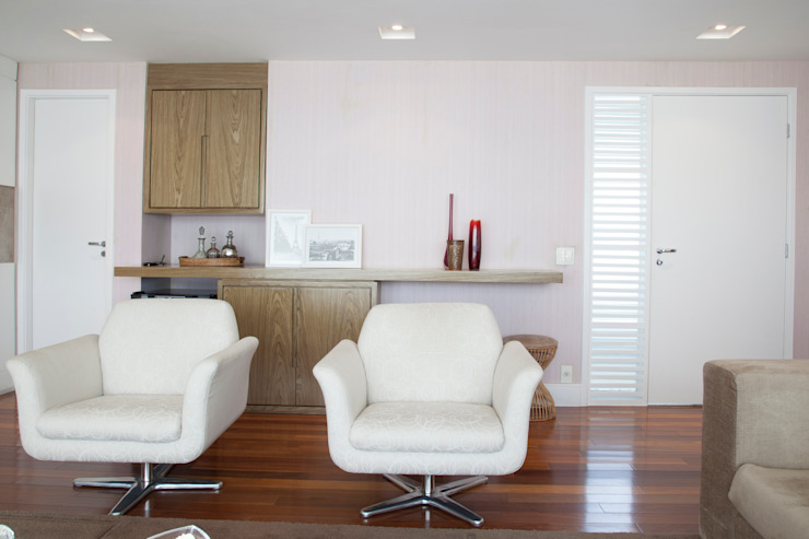 Tikkanen arquitetura Oturma OdasıTV Dolabı & Mobilyaları