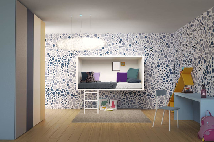 3Dots Wallpaper - Lagostudio par Jennifer Rieker - Produktdesign Éclectique