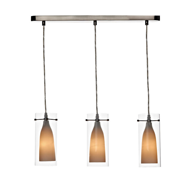 Satin Chrome Ceiling Pendants: modern  by Socket Store, Modern